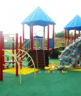 playground outdoor treehouse tower 6